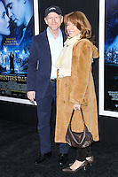 """NEW YORK, NY - FEBRUARY 11: Ron Howard and Cheryl Howard at the World Premiere Of Warner Bros. Pictures' """"Winter's Tale"""" held at Ziegfeld Theatre on February 11, 2014 in New York City. (Photo by Jeffery Duran/Celebrity Monitor)"""