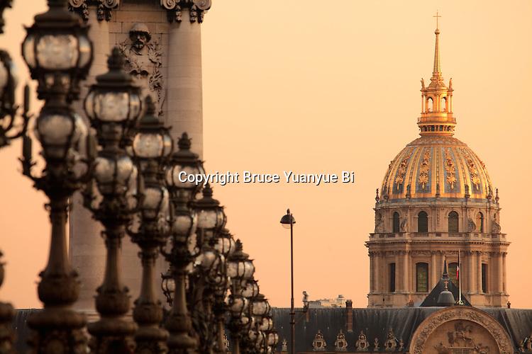 Dome church Dôme church of Invalides. City of Paris. Paris. France