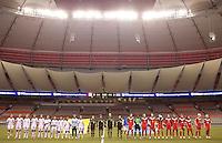 Canada vs Costa Rica, January 23, 2012