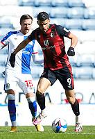 5th April 2021; Ewood Park, Blackburn, Lancashire, England; English Football League Championship Football, Blackburn Rovers versus Bournemouth; Dominic Solanke of Bournemouth