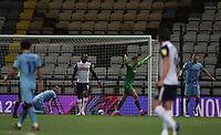 29th December 2020; Deepdale Stadium, Preston, Lancashire, England; English Football League Championship Football, Preston North End versus Coventry City; Daniel Johnson of Preston North End beats Coventry City goalkeeper Ben Wilson to give his side a 1-0 lead after 18 minutes