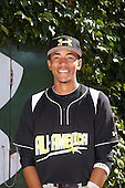 Infielder J.P. Crawford (3) poses for a photo before the Under Armour All-American Game at Wrigley Field on August 18, 2012 in Chicago, Illinois.  (Copyright Mike Janes Photography)