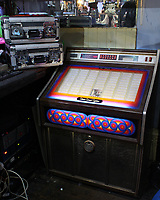 BNPS.co.uk (01202 558833)<br /> AdamPartridge/BNPS<br /> <br /> 1970s jukebox with a selection of records including Elvis, The Beatles, Billy Fury, Roy Orbison, Sonny & Cher<br /> <br /> A vast collection of 'weird and wonderful' memorabilia from a music venue that hosted early Beatles gigs has emerged for sale for close to £50,000.<br /> <br /> Lathom Hall in Liverpool was one of the best known clubs on the Merseybeat music scene in the late 1950s and early 1960s.<br /> <br /> Among their regular bands were the Beatles, although at that time they were known as the Silver Beets.<br /> <br /> Since those days the hall has adapted and is now an entertainment venue crammed full of pop culture memorabilia.