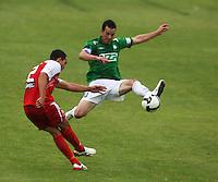 091115 NZFC Football - Youngheart Manawatu v Waitakere United
