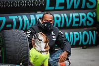 HAMILTON Lewis (gbr), Mercedes AMG F1 GP W11 Hybrid EQ Power+, portrait during the Formula 1 DHL Turkish Grand Prix 2020, from November 13 to 15, 2020 on the  Intercity Istanbul Park, in Tuzla, near Istanbul, Turkey  <br /> Formula 1 GP Turchia 15/11/2020<br /> Foto DPPI/Panoramic/Insidefoto <br /> ITALY ONLY