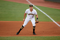 Bradenton Marauders first baseman Will Craig (22) during the second game of a doubleheader against the Tampa Yankees on June 14, 2017 at LECOM Park in Bradenton, Florida.  Tampa defeated Bradenton 5-1.  (Mike Janes/Four Seam Images)