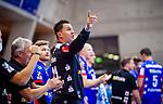 Vladimir Bozic (HBW Balingen #21) beim Spiel HSG Konstanz – HBW Balingen-Weilstetten beim BGV Handball Cup 2020.<br /> <br /> Foto © PIX-Sportfotos *** Foto ist honorarpflichtig! *** Auf Anfrage in hoeherer Qualitaet/Aufloesung. Belegexemplar erbeten. Veroeffentlichung ausschliesslich fuer journalistisch-publizistische Zwecke. For editorial use only.