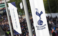 Tottenham Hotspur banners on the concourse of Wembley Way prior to kick off of the Premier League match between Tottenham Hotspur and Swansea City at Wembley Stadium, London, England, UK. Saturday 16 September 2017
