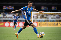SAN JOSE, CA - SEPTEMBER 4: Paul Marie #3 of the San Jose Earthquakes dribbles the ball during a game between Colorado Rapids and San Jose Earthquakes at PayPal Park on September 4, 2021 in San Jose, California.
