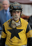 3 October 2009: Jockey David Flores after winning the 73rd running of the G2 Hawthorne Gold Cup at Hawthorne Race Course in Cicero/Stickney, Illinois.