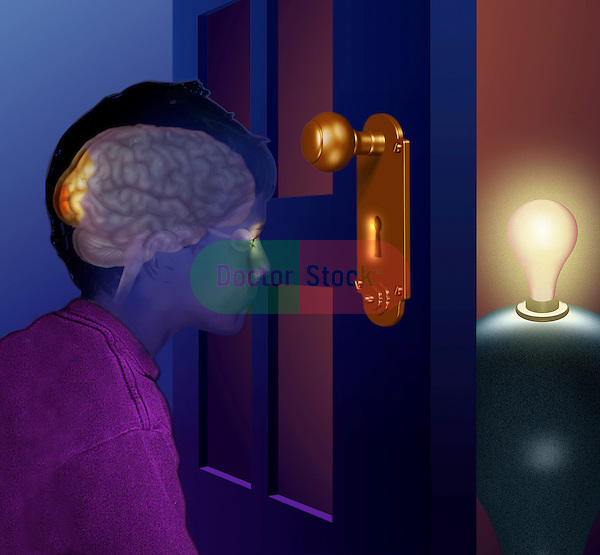 metaphorical illustration for mental function
