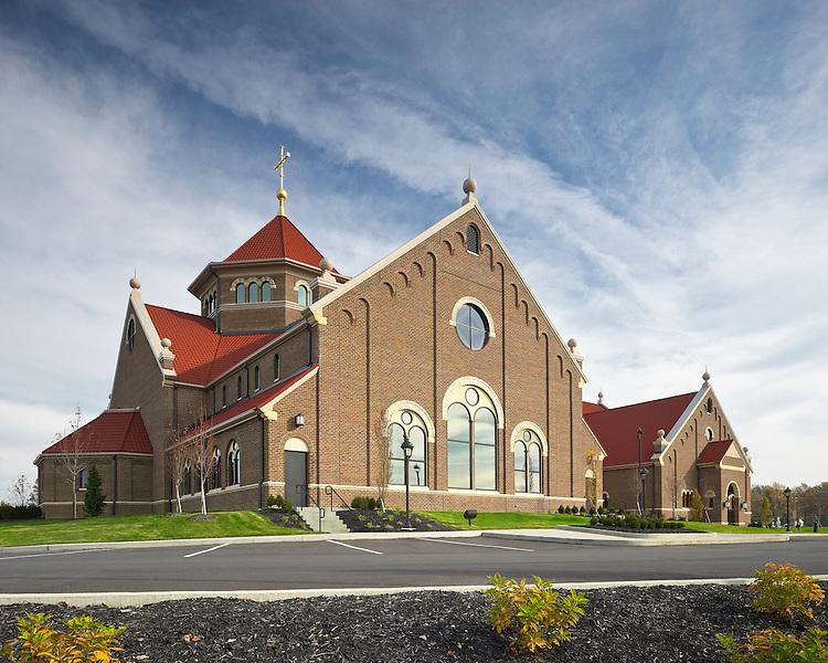 St. Paul the Apostle Parish Catholic Church   Architect: Meleca Construction: Corna