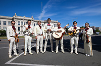 The Mariachi Monarcas Band, Colors of Freedom Parade 2017, 4th of July, Everett, WA, USA.