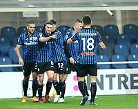 Bergamo  06-02-2021<br /> Stadio Atleti d'Italia<br /> Serie A  Tim 2020/21<br /> Atalanta- Torino nella foto:  Esultanza                                                        <br /> Antonio Saia Kines Milano
