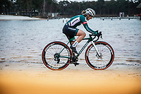 Kaitlin Keough (USA/Cannondale Cyclocrossworld)<br /> <br /> Women's elite Race <br /> Zilvermeercross Mol (BEL) 2021<br /> <br /> ©Kramon