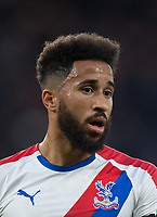 Andros Townsend of Crystal Palace during the Premier League match between Chelsea and Crystal Palace at Stamford Bridge, London, England on 4 November 2018. Photo by Andy Rowland.<br /> .<br /> (Photograph May Only Be Used For Newspaper And/Or Magazine Editorial Purposes. www.football-dataco.com)