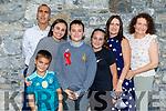 Nadal Rivas Mc Hugh celebrating his confirmation with his family in St John's on Saturday.<br /> Front l-r, Ruben Snr, Ruben Jnr, Maiya, Nadal, Nadia, and  Siobhan Rivas McHugh and Sally Grealish,