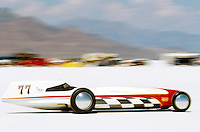 Speed Week Bonneville Salt Flats Seth Hammond 1962 Lakester Driver Tanis Hammond record 299.7 MPH