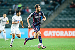 Fernando Recio of SC Kitchee in action during the Nike Lunar New Year Cup 2017 match between SC Kitchee (HKG) and Auckland City FC (NZL) on January 31, 2017 in Hong Kong, Hong Kong. Photo by Marcio Rodrigo Machado / Power Sport Images