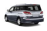 Car pictures of rear three quarter view of2015 Nissan Quest SV 5 Door Minivan Angular Rear