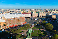 Saint Petersburg Aerial View