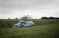 Shimano neutral support car<br /> <br /> Belgian National Road Cycling Championships 2016<br /> Les Lacs de l'Eau d'Heure
