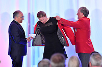 Frisco, TX - October 20, 2018: National Soccer Hall Of Fame Opening at Toyota Stadium, in Frisco, TX.