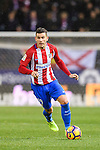 Lucas Hernandez of Atletico de Madrid in action during their La Liga match between Atletico de Madrid and RC Celta de Vigo at the Vicente Calderón Stadium on 12 February 2017 in Madrid, Spain. Photo by Diego Gonzalez Souto / Power Sport Images