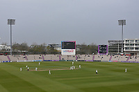 General view of play during Hampshire CCC vs Essex CCC, Specsavers County Championship Division 1 Cricket at the Ageas Bowl on 7th April 2019