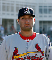 Lance Lynn - Springfield Cardinals.2009 Texas League All-Star game held at Dr. Pepper Ballpark, Frisco, TX - 07/01/2009. The game was won by the North Division, 2-1..Photo by:  Bill Mitchell/Four Seam Images