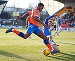 23.12.2018 St Johnstone v Rangers: Lassana Coulibaly and Joe Shaughnessey