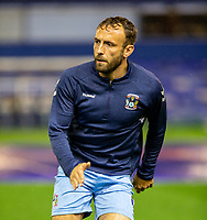 2nd October 2020; St Andrews Stadium, Coventry, West Midlands, England; English Football League Championship Football, Coventry City v AFC Bournemouth; Liam Kelly of Coventry City running during the warm up