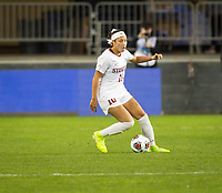 Stanford, CA - December 8, 2019: Maya Doms at Avaya Stadium. The Stanford Cardinal won their 3rd National Championship, defeating the UNC Tar Heels 5-4 in PKs after the teams drew at 0-0.