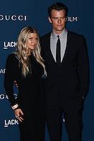LOS ANGELES, CA - NOVEMBER 02: Fergie, Josh Duhamel at LACMA 2013 Art + Film Gala held at LACMA on November 2, 2013 in Los Angeles, California. (Photo by Xavier Collin/Celebrity Monitor)