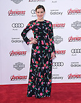 "Elizabeth Henstridge attends The World Premiere of Marvel's ""Avengers"" Age of Ultron,"" held at The Dolby Theatre in Hollywood, California on April 13,2015                                                                               © 2014 Hollywood Press Agency"
