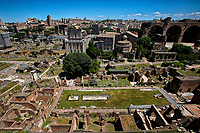 Roma June 1st 2020. Italy Coronavirus phase 2. Reopening of the Imperial Fora.<br /> Photo Samantha Zucchi Insidefoto