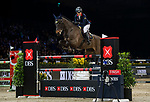 Clarissa Lyra of Hong Kong riding Catokia competes in the Masters One DBS during the Longines Masters of Hong Kong at AsiaWorld-Expo on 11 February 2018, in Hong Kong, Hong Kong. Photo by Diego Gonzalez / Power Sport Images