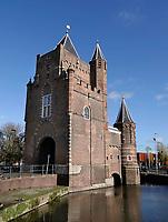 Nederland Haarlem - 2020.   Spaarndammer of Amsterdamse Poort in Haarlem. Foto : ANP/ HH / Berlinda van Dam