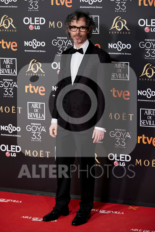 James Rhodes attends to 33rd Goya Awards at Fibes - Conference and Exhibition  in Seville, Spain. February 02, 2019. (ALTERPHOTOS/A. Perez Meca)