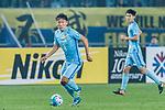 Jiangsu FC Midfielder Liu Jianye in action during the AFC Champions League 2017 Group H match between Jiangsu FC (CHN) vs vs Gamba Osaka (JPN) at the Nanjing Olympics Sports Center on 11 April 2017 in Nanjing, China. Photo by Yu Chun Christopher Wong / Power Sport Images
