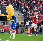 26.02.2020 SC Braga v Rangers: Matheus and Steven Davis