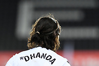 Yan Dhanda of Swansea City during the Sky Bet Championship match between Swansea City and Cardiff City at the Liberty Stadium in Swansea, Wales, UK. Saturday 20 March 2021