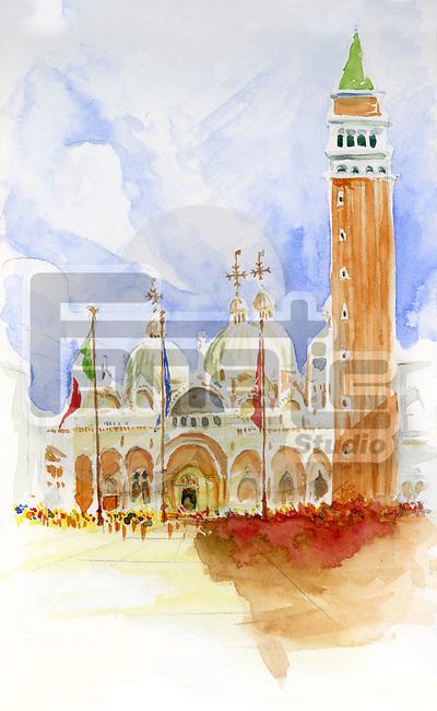 Illustrative image of historic church