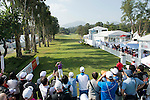 Jbe Kruger of South Africa tees off the first hole during the 58th UBS Hong Kong Golf Open as part of the European Tour on 11 December 2016, at the Hong Kong Golf Club, Fanling, Hong Kong, China. Photo by Marcio Rodrigo Machado / Power Sport Images