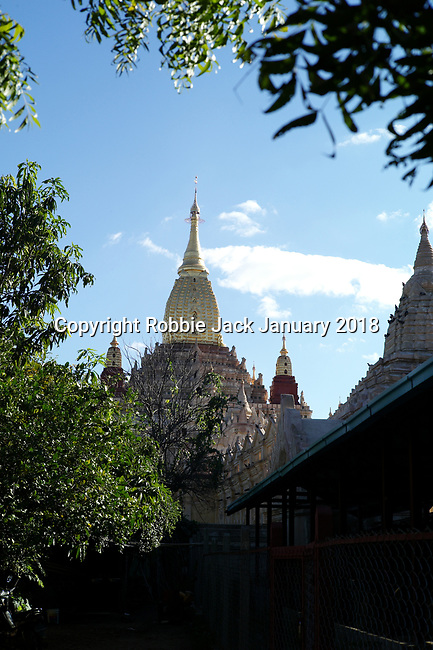 The Ananda Temple is a Buddhist temple built in 1105 AD during the reign of King Kyanzittha of the Pagan Dynasty.