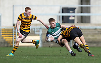 Tuesday 10th March 2020 | Campbell College vs RBAI <br /> <br /> Lukas Kenny during the 2020 Medallion Shield Final between Campbell College and RBAI at Kingspan Stadium, Ravenhill Park, Belfast, Northern Ireland. Photo by John Dickson / DICKSONDIGITAL