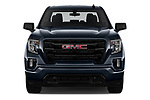 Car photography straight front view of a 2019 GMC Sierra-1500 Elevation 4 Door Pickup Front View