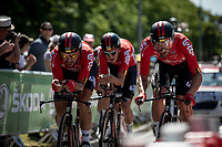 Stage 3 (Team Time Trial): Cholet > Cholet (35km)<br /> <br /> 105th Tour de France 2018<br /> ©kramon