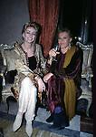 ENRICA BONACCORTI E NORI CORBUCCI<br /> FESTA A PALAZZO PECCI BLUNT ROMA 2002