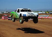 Apr 15, 2011; Surprise, AZ USA; LOORRS driver Jeff Geiser (44) during round 3 and 4 at Speedworld Off Road Park. Mandatory Credit: Mark J. Rebilas-.